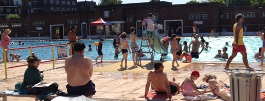 Parliament Hill Lido is one of London's best lidos and outdoor swimming pools.
