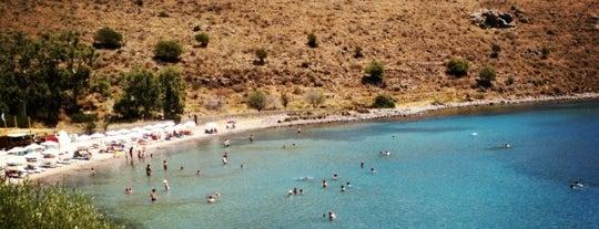 Klima beach is one of Αίγινα.