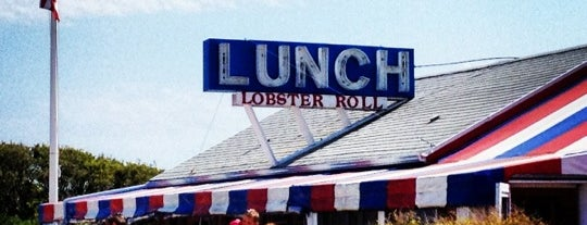 The Lobster Roll Restaurant is one of Out of town.