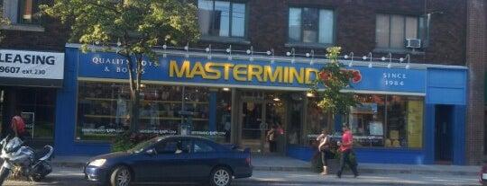 Mastermind Toys is one of tim'in Beğendiği Mekanlar.