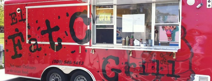 El Fat Cat Grill Food Truck is one of Ulyssesさんのお気に入りスポット.
