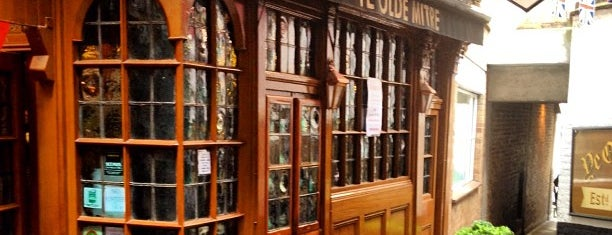 Ye Olde Mitre is one of England - London area - Bars & Pubs.