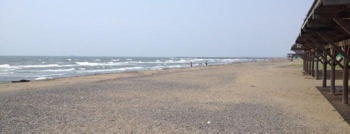 いなげの浜 is one of 日本の白砂青松100選.