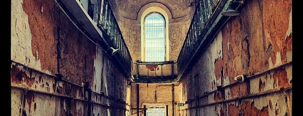 Eastern State Penitentiary is one of Aaron's Philly Birthday Weekend.