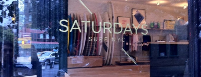 Saturdays Surf NYC is one of TODO New York City.