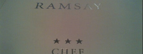 Restaurant Gordon Ramsay is one of 3* Star* Restaurants*.