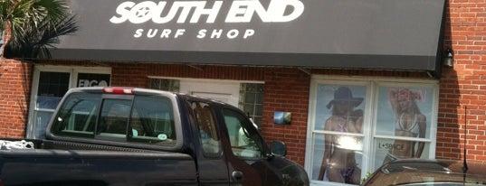 South End Surf Shop is one of Tempat yang Disukai h.