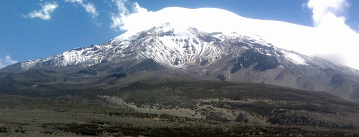 Chimborazo is one of Ecuador best spots.