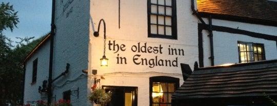 Ye Olde Trip to Jerusalem is one of East Midlands.