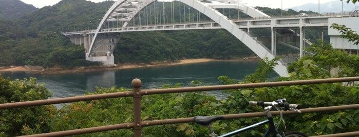 大三島橋 is one of 西瀬戸自動車道(しまなみ海道).