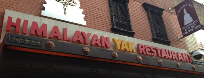 Himalayan Yak is one of USA NYC Restos.
