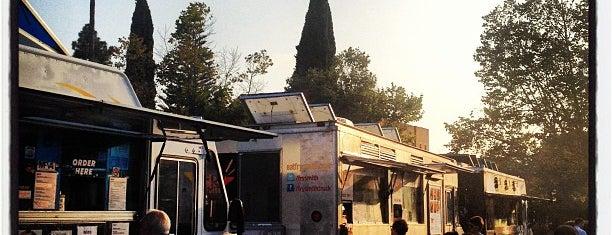 Los Feliz Din Din a Go-Go is one of LA's Best Food Trucks.