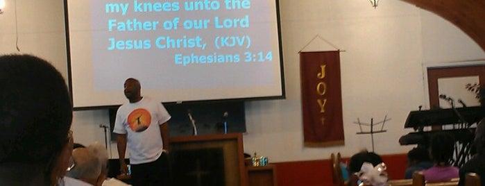 New Beginnings Church of God of Prophecy is one of Tempat yang Disukai Juanita.