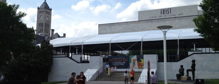 Frist Center for the Visual Arts is one of Nashville.