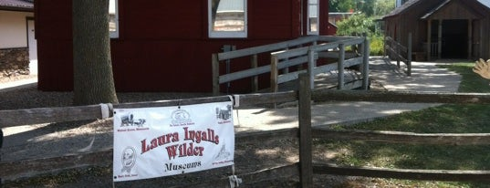 Laura Ingalls Wilder Museum is one of Orte, die Aaron gefallen.