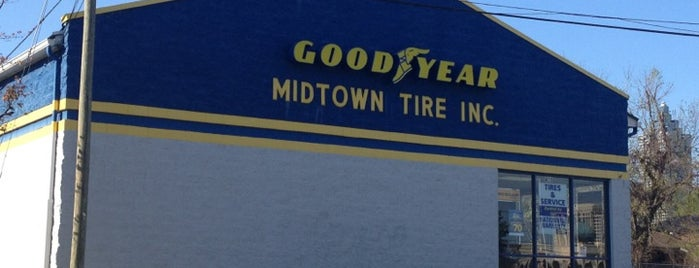 Midtown Tire is one of Chiaさんのお気に入りスポット.