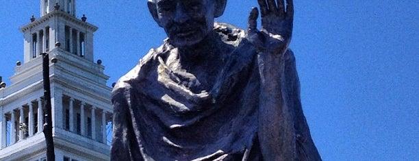 Mahatma Gandhi Statue is one of San Francisco Bay.
