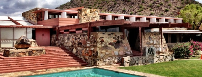 Taliesin West is one of AZ.