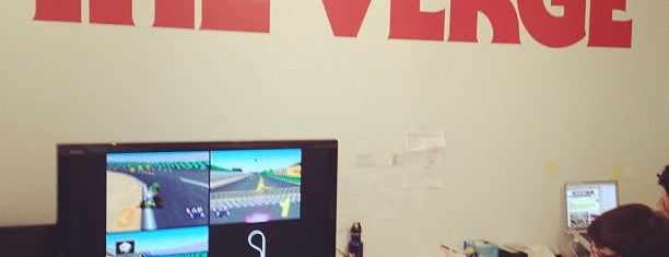 The Verge is one of NYC Work Spaces & Tech Startups.