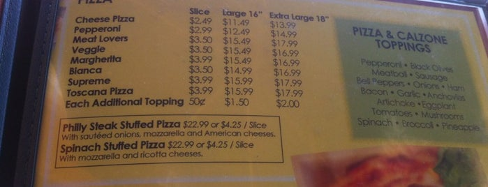 Buona Pizza is one of St Pete Beaches Feed Your Face Guide.