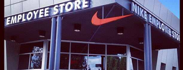 Nike Employee Store is one of PDX.