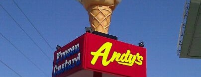 Andy's Frozen Custard is one of Lugares favoritos de Kory.