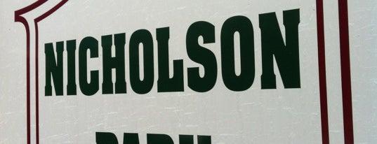 Nicholson Park is one of Lugares guardados de Melony.