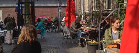 De Cantine is one of My Amsterdam indulgences....