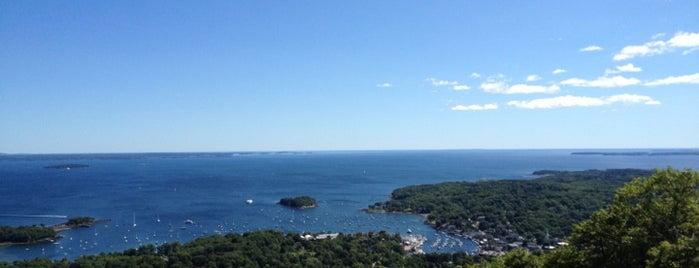 Mount Battie is one of Maine.