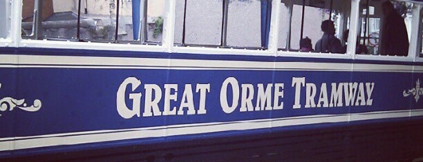 Great Orme Tramway Station is one of Locais curtidos por Carl.