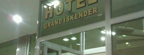 Hotel Grand İskender is one of Lugares favoritos de ömer.