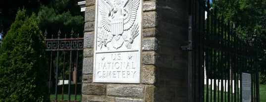 Philadelphia National Cemetery is one of Posti salvati di Anthony.