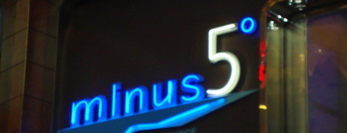 Minus5° Ice Lounge is one of ★My HAUTE List★.