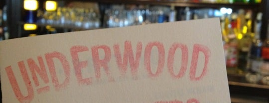 Underwood Bar & Bistro is one of Eco Eating North Bay.