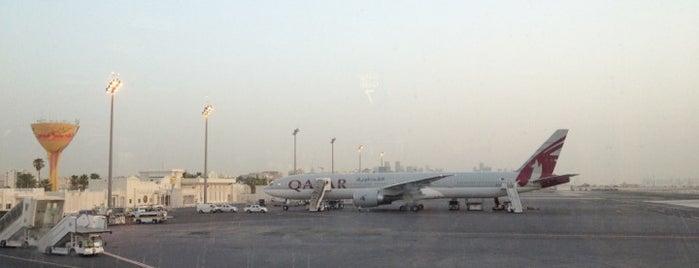 Doha International Airport (DOH) مطار الدوحة الدولي is one of AIRPORT.