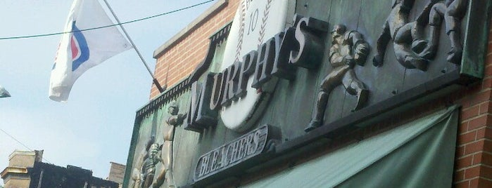 Murphy's Bleachers is one of Official Blackhawks Bars.