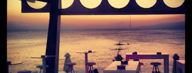 New York Beach Club is one of Crete.