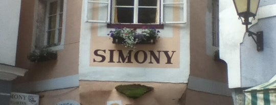 Gasthof Simony is one of wien - salzburg - hallstatt.