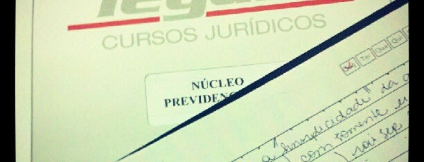 Legale Cursos Jurídicos is one of Tempat yang Disimpan Advocacia Correspondente Cotia.