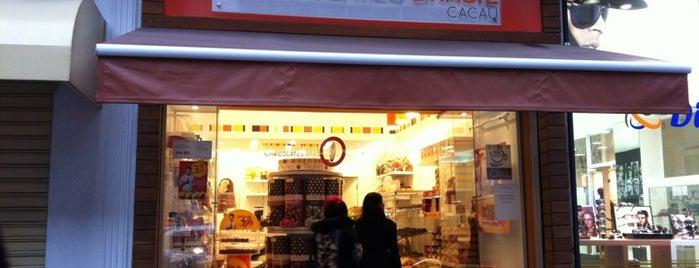 Chocolates Brasil Cacau is one of สถานที่ที่ Cris ถูกใจ.