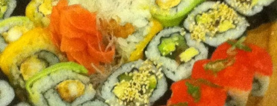 Harumi Sushi-Bar is one of Orte, die Julio gefallen.