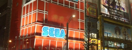 SEGA Akihabara 1 is one of Lieux qui ont plu à 高井.
