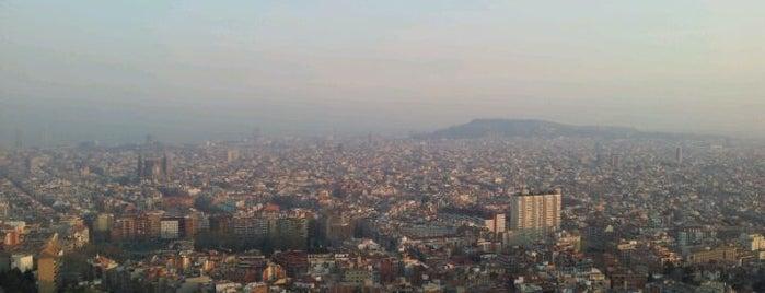 Bateries Antiaereas De Can Baro is one of barcelona • outdoor.