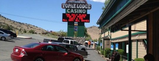 Topaz Lodge Casino is one of Greg : понравившиеся места.