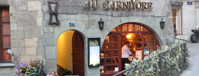 Le Carnivore Vieille Ville is one of Business trip restaurants.