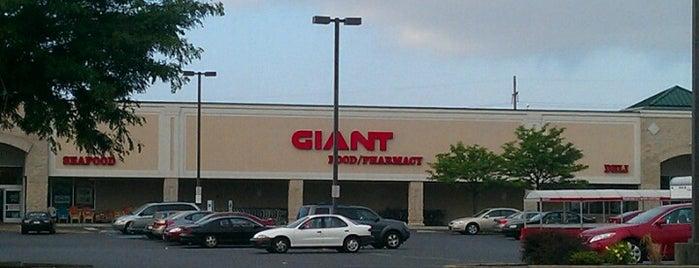 Giant Food Store is one of Orte, die Tanya gefallen.