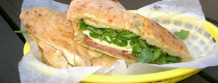 Lucky's Puccias is one of Lunch at GSD&M.