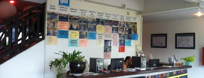 Siem Reap Hostel is one of สถานที่ที่บันทึกไว้ของ (((ekin))).
