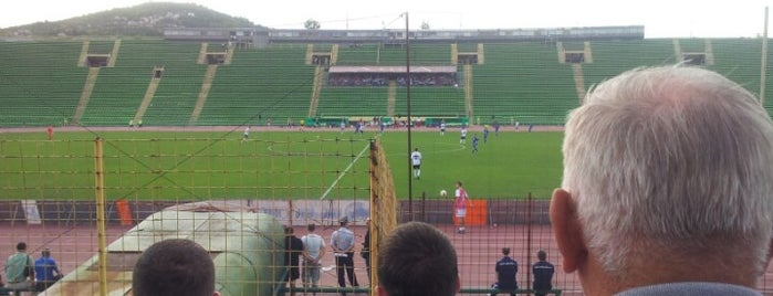 Stadion Asim Ferhatovic Hase is one of Soccer Stadiums.