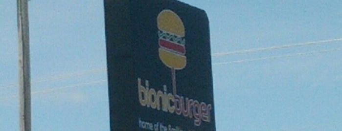 Bionic Burger is one of Restaurants I Want To Try.
